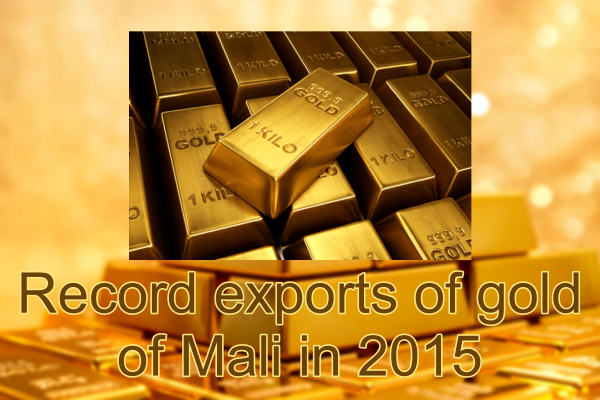 Mali Gold Export 2015